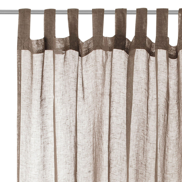 Cotopaxi Linen Curtain in taupe | Home & Living inspiration | URBANARA
