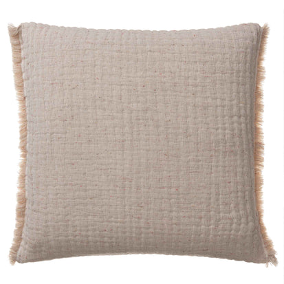 Cousso Cushion Cover natural, 75% cotton & 25% recycled polyester