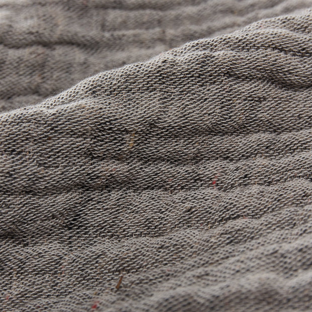 Cousso Bedspread grey, 75% cotton & 25% recycled polyester | URBANARA bedspreads & quilts