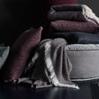 Bordeaux red & Cream Nerva Decke | Home & Living inspiration | URBANARA