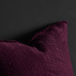 Ruivo bedspread, bordeaux red, 100% cotton |High quality homewares