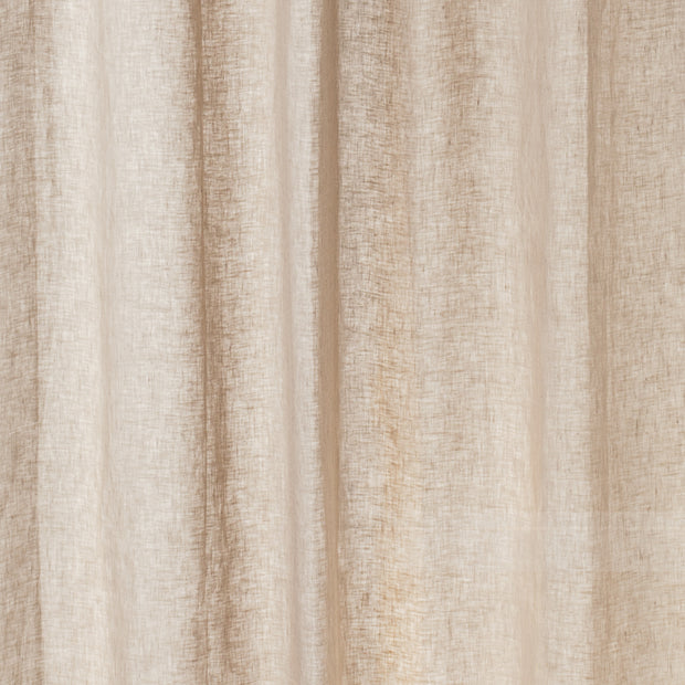 Cuyabeno Curtain taupe, 100% linen | High quality homewares