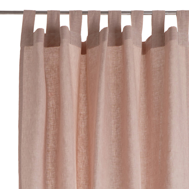 Cuyabeno Linen Curtain in dusty pink | Home & Living inspiration | URBANARA