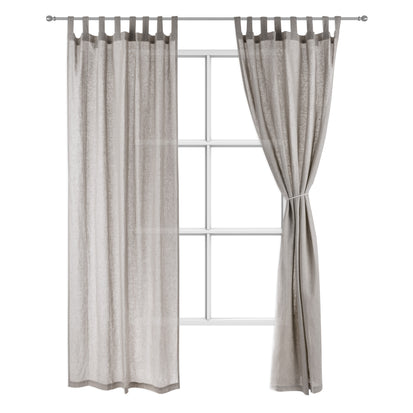 Cuyabeno Curtain grey, 100% linen