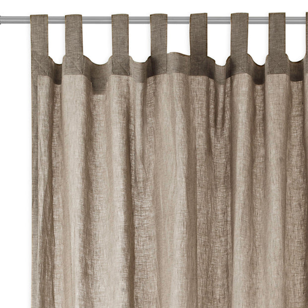 Cuyabeno Linen Curtain in taupe | Home & Living inspiration | URBANARA