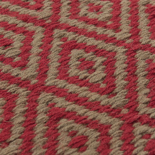 Dasheri Rug red, 100% jute | High quality homewares