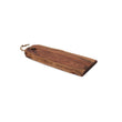 Denai chopping board, warm brown, 100% acacia wood | URBANARA serveware & boards