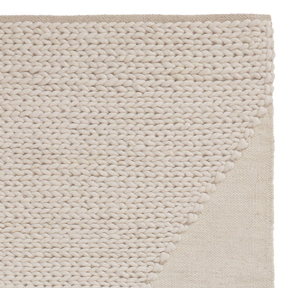 Dumala Wool Rug ivory, 80% wool & 20% cotton