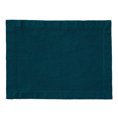 Espinho Place Mat Set forest green, 100% cotton