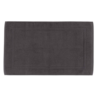 Faia Bath Mat charcoal, 100% organic cotton