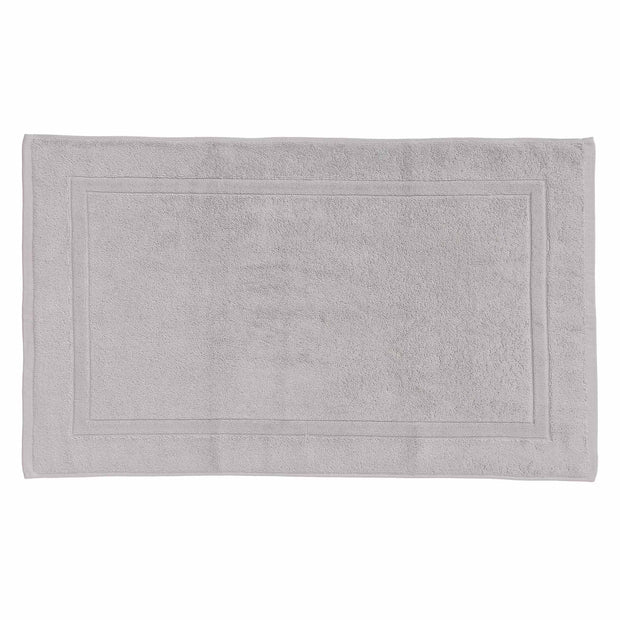Faia Bath Mat light grey, 100% organic cotton