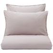 Fajao duvet cover, light mauve, 100% combed cotton