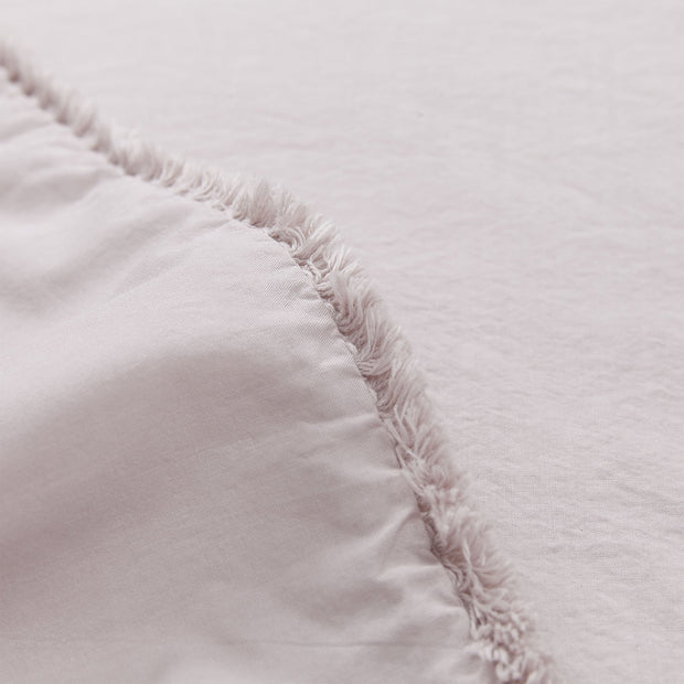 Fajao duvet cover, light mauve, 100% combed cotton | URBANARA percale bedding