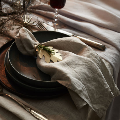 Miral Napkin Set in natural | Home & Living inspiration | URBANARA