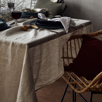 Miral Table Cloth in natural | Home & Living inspiration | URBANARA