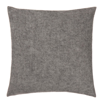 Fyn Cushion Cover grey & natural, 95% new wool & 5% linen