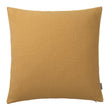 Fyn cushion cover, mustard & natural, 100% new wool & 100% linen