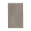 Gotland Wool Blanket grey & cream, 100% new wool | URBANARA wool blankets