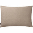 Gotland cushion cover in olive green & off-white, 100% new wool & 100% linen |Find the perfect cushion covers