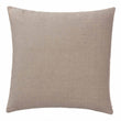 Gotland Cushion Cover powder pink & cream, 100% new wool & 100% linen | URBANARA cushion covers