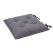 Isaka Cushion pigeon blue, 100% cotton