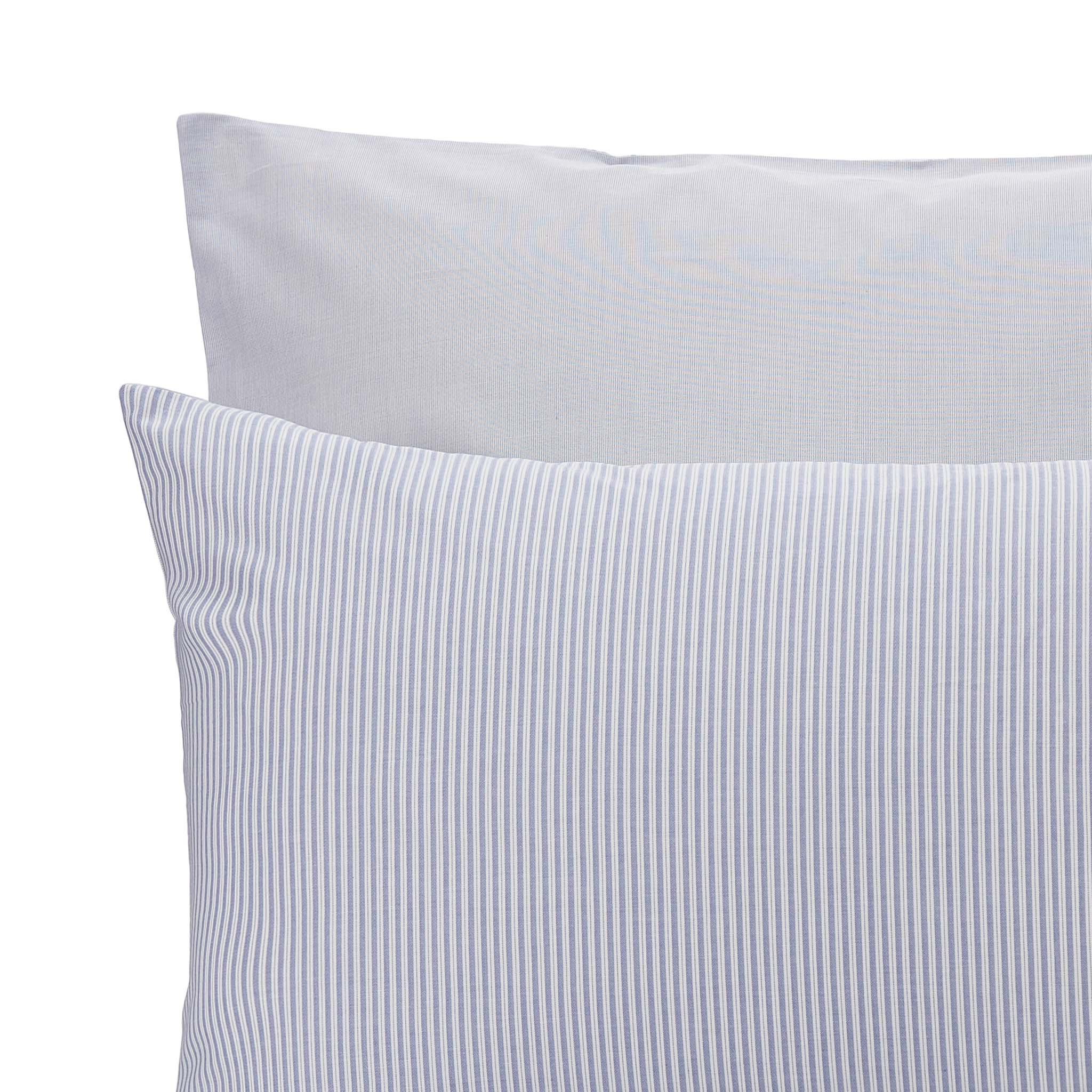 Izeda Duvet Cover [Blue/White]