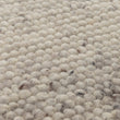 Jindas Rug ivory, 65% wool & 35% cotton | Find the perfect wool rugs