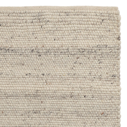 Jindas Rug ivory, 65% wool & 35% cotton
