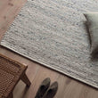 Jindas Rug silver grey, 65% wool & 35% cotton | High quality homewares