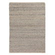 Jindas Rug silver grey, 65% wool & 35% cotton | URBANARA wool rugs