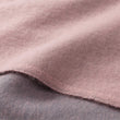 Jonava blanket in powder pink & grey, 100% merino wool |Find the perfect wool blankets