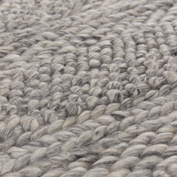 Kagu wool rug grey melange, 100% wool | High quality homewares