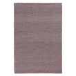 Kalu rug, grey melange, 48% wool & 52% cotton | URBANARA wool rugs