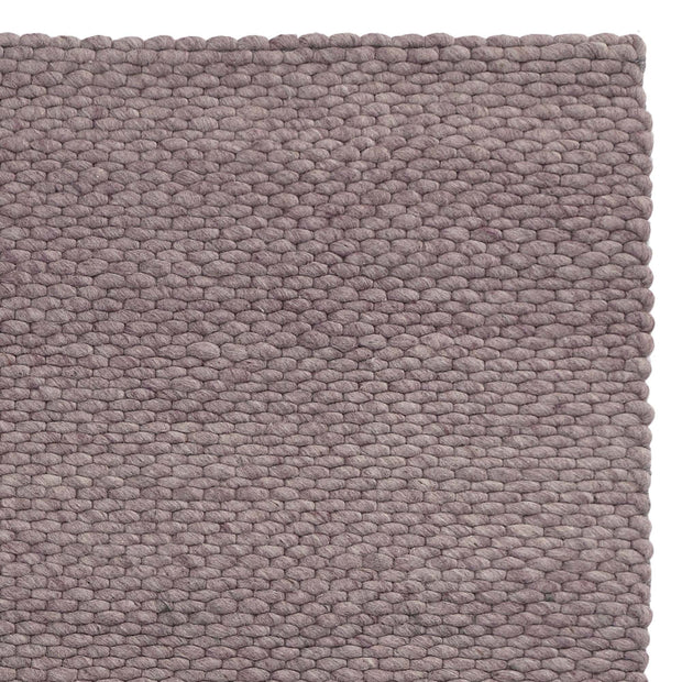 Kalu rug, grey melange, 48% wool & 52% cotton