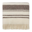 Kampai Wool Blanket cream & grey, 100% new wool