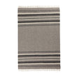 Kampai blanket, grey & cream, 100% new wool | URBANARA wool blankets