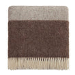 Karby Wool Blanket [Cream/Brown]