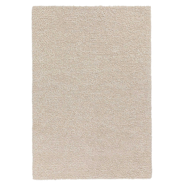 Karnu rug, ivory, 75% wool & 25% cotton | URBANARA wool rugs