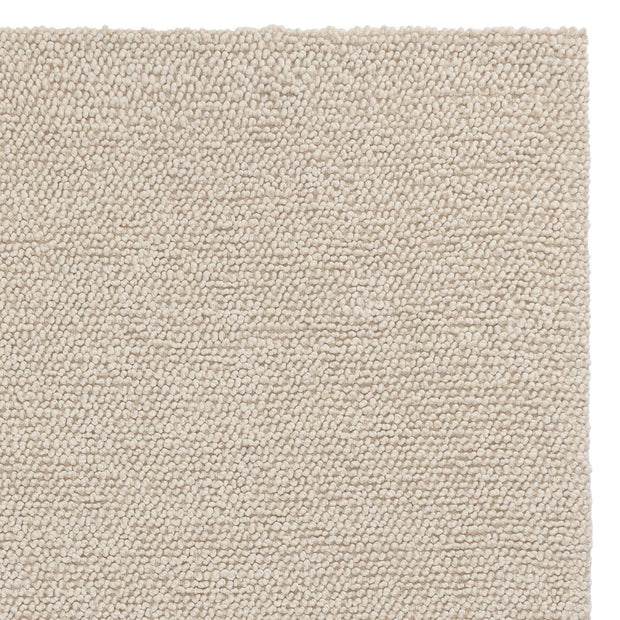 Karnu rug, ivory, 75% wool & 25% cotton