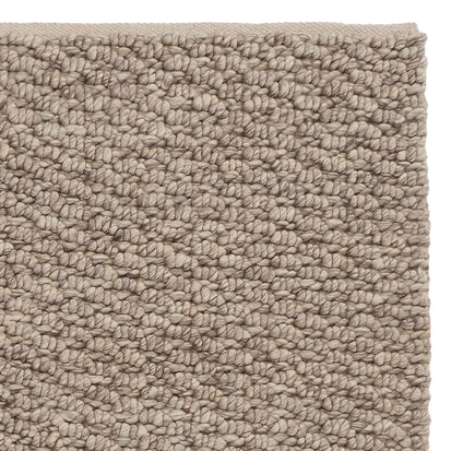 Kasara Wool Rug [Grey brown melange]