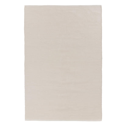 Khara cotton rug in natural white | Home & Living inspiration | URBANARA