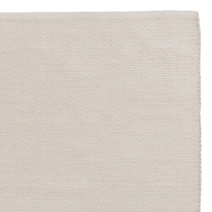 Khara cotton rug natural white, 100% cotton