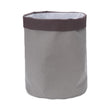 Khuwa Storage grey & dark grey, 100% cotton | URBANARA storage baskets