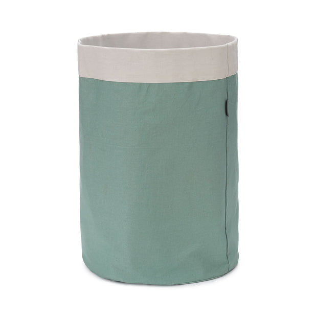 Khuwa Storage green grey & off-white, 100% cotton