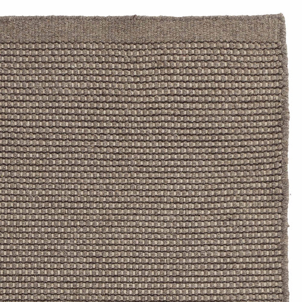 Kolong Rug grey brown & off-white, 100% new wool