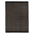Kolong Rug black & off-white, 100% new wool | URBANARA wool rugs