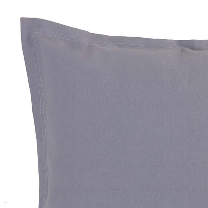 Komana Floor Cushion in pigeon blue | Home & Living inspiration | URBANARA