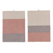 Kotra Towel Collection dusty pink & natural, 50% linen & 50% cotton | High quality homewares