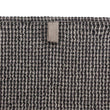 Kotra Towel Collection grey & natural & black, 50% linen & 50% cotton | High quality homewares