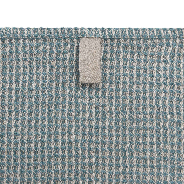 Kotra Towel Collection green grey & natural & grey, 50% linen & 50% cotton | High quality homewares